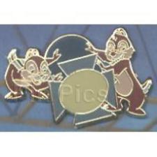 Disney Pin 65331 WDW  Event PTU Chip Dale School Play Framed Set LE 100 VHTF