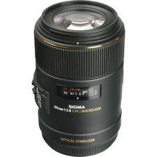 Sigma Ef 105mm f2.8 Macro Lens Dg Hsm - Black