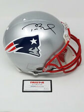 TOM BRADY Autographed Authentic New England Patriots Proline Helmet TRISTAR