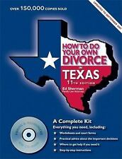 How to Do Your Own Divorce in Texas: A Complete Kit-ExLibrary