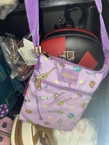 Loungefly Sailor Moon Passport Crossbody Bag Purse