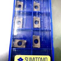 10pcs Sumitomo AXMT123508PEER-H ACP200 Carbide Inserts Free Shipping