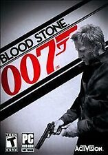 PC James Bond 007 Blood Stone Bloodstone Brand New and Factory Sealed