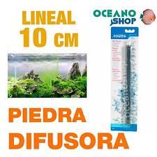 "Piedra difusor 10cm ""Marina"" lineal aire oxigenador CO2 bomba acuario difusores"