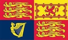More details for giant uk royal standard 8ft x 5ft (240cm x 150cm) flag funeral drape