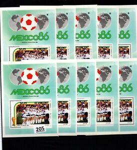 /// 10X ST.VINCENT - MNH - SPORTS - SOCCER - MEXICO 1986