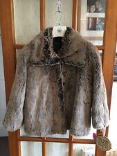 Marks & Spencer Per Una  Faux Fur Coat Size M