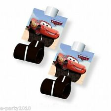 CARS BLOWOUTS (8) ~ Disney Birthday Party Supplies Favors Lightning McQueen Red
