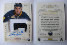 2013-14 Panini National Treasures #225 Zemgus Girgensons 09/28 B letter rookie