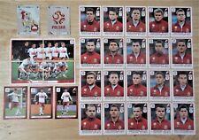 Panini UEFA Euro 2012 Poland/Ukraine Complete Team Poland + 2 Foil Badges
