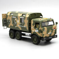 1:32 Kamaz Military Vehicle Army Truck Model Car Diecast Vehicle Gift Collection