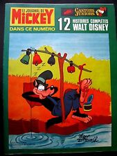 Le journal de Mickey N° 1255 du 7 /1976 -Walt Disney Edi-Monde