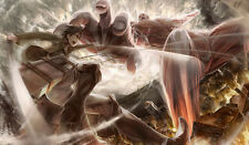 102 Attack on Titan PLAYMAT CUSTOM PLAY MAT ANIME PLAYMAT FREE SHIPPING