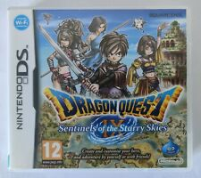 Nintendo DS Case & Manual Only - Dragon Quest IX: Sentinels of the Starry Skies