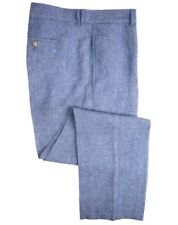 TailorByrd Collection Linen Pants Blue Mens Size 32x32 New