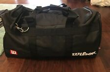 Wilson Sports Individual Black Game Gear Gym Athletic Duffle Bag NEW A3975.