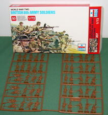 1/72 ESCI British 8th Army WWII  MOS complete set 207