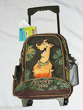 """SCOOBY-DOO SMALL  ROLLING CANVAS  BACKPACK WITH WATER BOTTLE 12 1/2"""" X 9 1/2 """""""