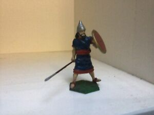 Ancient Assyrian shield bearer. New Hope Designs metal toy soldiers. 54 mm