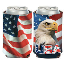 Patriotic USA Can Cooler 12 oz. Koozie