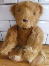 More details for gorgeous hand made teddy bear with growler, jointed, looking for forever home.