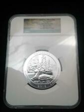 2018 5 oz Silver ATB Voyageurs National Park PCGS MS69 DPL First Releases