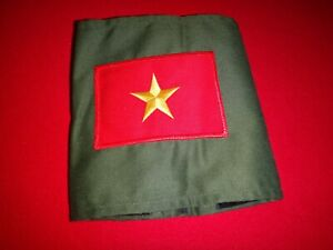 Vietnam War VC North Vietnamese Army Green OD Armband New Old Stock