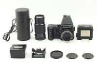 Exc+5】 Mamiya 645 Pro Body AE Finder  + Sekor C 80 F2.8 + 210 F4 Lens From Japan
