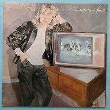 JONI MITCHELL ~ WILD THINGS RUN FAST ~ 1982 UK 11-TRACK LP RECORD + LYRIC G/FOLD