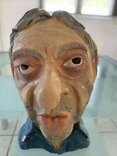 Buste de Serge Gainsbourg en plâtre ( 23cm )