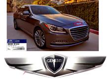 OEM Hyundai Genesis 2015-16 Front Hood Mark Wing Emblem (Genesis) Logo OEM WINGS