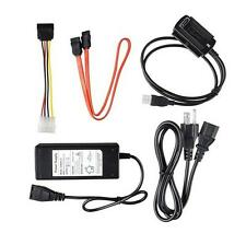 USB 2.0 to IDE SATA S-ATA 2.5 3.5 Hard Drive HD HDD Converter Adapter Cable EU R