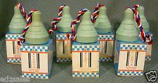 7 Vintage Vanda Astro Soap On A Rope apollo spaceship rocket capsule w/ Box