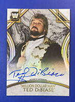 Million Dollar Man Ted DiBiase 2018 Topps WWE Legends Autograph Card Auto /199