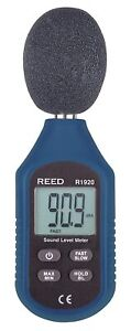 REED Instruments R1920 Sound Level Meter, Compact Series