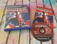 Ultimate Spider-Man - Rare Sony Playstation 2, PS2, Boxed + Instructions