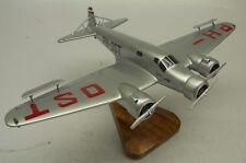 S-4 Postjager Pander Netherlands S4 Airplane Desktop Wood Model Big New