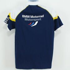 BMW Motorrad Motorsport Polo Shirt Adult Size L