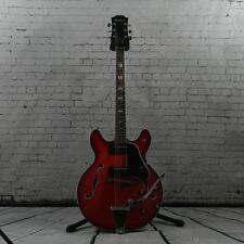 Guitare Electrique Epiphone Demi-caisse 5102 T Japan 1971 Cherry burst