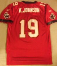 TAMPA BAY BUCCANEERS # 19 K. JOHNSON NFL JERSEY BY REEBOK YOUTH LARGE 14/16