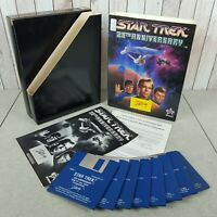 "Big Box PC - STAR TREK 25th ANNIVERSARY 3.5"" Floppy Disk (PC: Windows, MS DOS)"