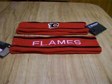 CALGARY FLAMES LICENSED RED NHL HEAD BAND NEW W/ TAGS
