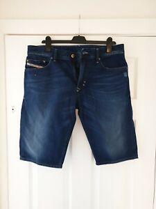 Mens Diesel Denim Shorts 34