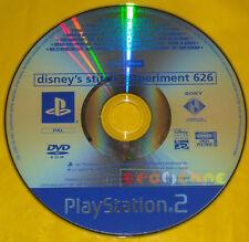 DISNEY'S STITCH ESPERIMENTO 626 Ps2 Versione Promo gioco completo »»» SOLO DISCO