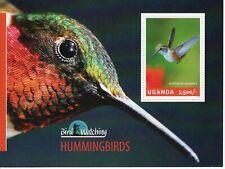 Uganda Birds 2014 Hummingbirds sheetlet UM (MNH)