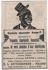 Pubblicità vintage ARREDO CASA LETTO TRAPUNTE MILANO advert werbung publicitè