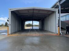 machinery shed warehouse storage farm hay tractor garage truck storage shed