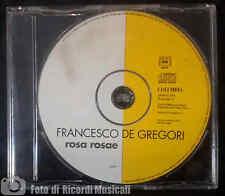 FRANCESCO DE GREGORI - ROSA ROSAE (1996) CDS