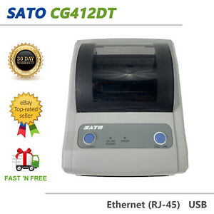 Portable Shipping Label 4x6 Printer USB Ethernet 300 dpi NO AC Adapter
