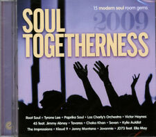 "SOUL TOGETHERNESS 2009  ""15 MODERN SOUL ROOM GEMS""  CD"